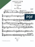 Requiem Verdi tromba