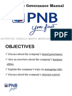 PNB Governance