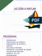 Introducción a Matlab.