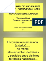 Ppt 1 2018 Mercado Globalizado