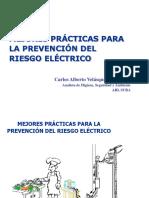 presentacion del riesgo electrico