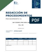Pr01 Procedimiento Inicial- Grupo Isfera