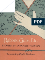 Rabbits, crabs, etc. Stories by japanese women