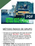 J Metodo Indice de Grupo