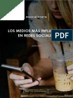 Medios Influyentes en Redes Sociales