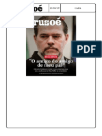 Revista Crusoé Censurada