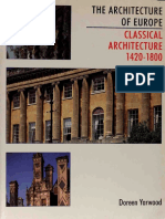 YARWOOD (Doreen)_ The Architecture of Europe [vol.3]  ~ Classical Architecture, 1420–1800, 1994.pdf
