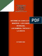 Informe Conflictos Mineros en Peru