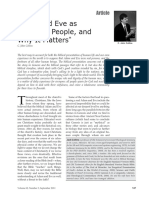 Adam and Eve as Historical People, and Why It Matters (C.J. Collins).pdf