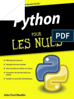 Python Pour Les Nuls