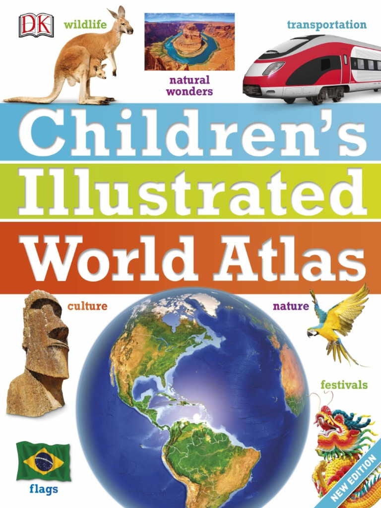Childrens Illustrated World Atlas pdf | Plate Tectonics | Rain