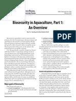 Bioseguridad en Acuicultura