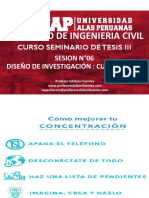 SESION 06 Diseño de La Investigacion CUANTITATIVO