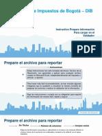 Instruct Vio Prepare Informacion Presentar