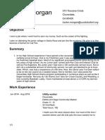 tuckers resume