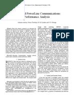 Broadband PowerLine Communications- Performance Analysis