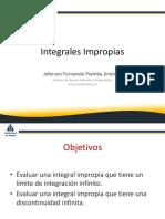4. Integrales Impropias