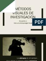 Encuentro 1 Intro a La Antropología Visual