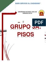GRUPO 3A- Pisos, Clasificación, Espesores.
