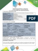 Guía Para El Desarrollo Del Trabajo Componente Práctico - Presencial y Virtual