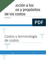 02C Introducción a los términos y propósitos de los costos