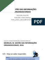 GI – AULA 08 e AULA 09 - 2019.1