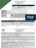 Proyecto Formativo - Desarrollo Del Entrenamiento d