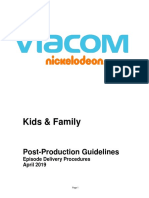 Kids and Family Post Guidelines 2019