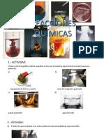 1º Reacciones Quimicas