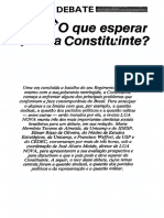 constituinte, 1988