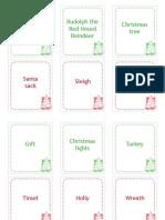 Childhood 101 Christmas Charades Cards