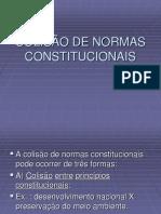 Colisao de Direitos Fundamentais e Eficacia Horizontal