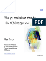 IBM Debug Tool for ZOS - Tutorial - What You Need Know About v14