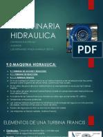 MAQUINARIA HIDRAULICA