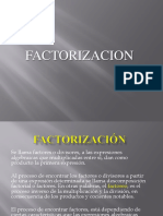 FACTORIZACION