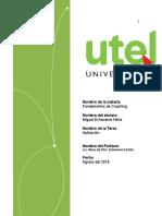 FUNDAMENTOS DE COACHING  UTEL