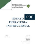 ensayo de Planificación y estrategias de la instrucción.docx