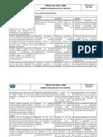Matriz de Desagregacion de Objetivos Pci Quimica
