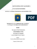 Resistencia a La Compresion f'c 175 Kg Cm2 Con Fp