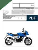 Hoja de Vida Motocicleta CBR46C