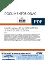 Documentos Onac