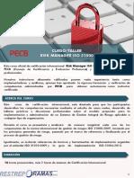 Curso 31000 2 Dias PECB