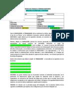 Contrato de Trabajo a Término Indefinido- Modelo