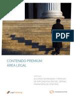 Algunas Novedades y Riesgos de Implementacion Del Sernac Financiero