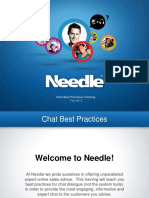 Chat Best Practices Training