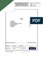 Procedimiento de Desmontaje de Cobertura Tr-4
