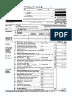 Sanders IRS Filing 2013