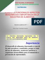 Clase 14 Alimentos Funcionales aspectos bioquimicos 2017 I.pdf
