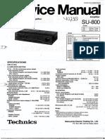 TECHNICS+SU-800