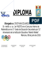 Diploma de Ma